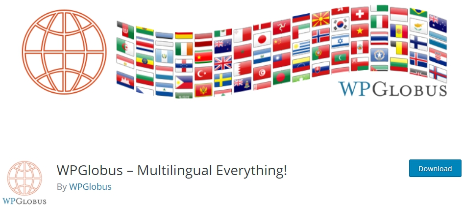 WPGlobus – Multilingual-Translation Plugins for Website