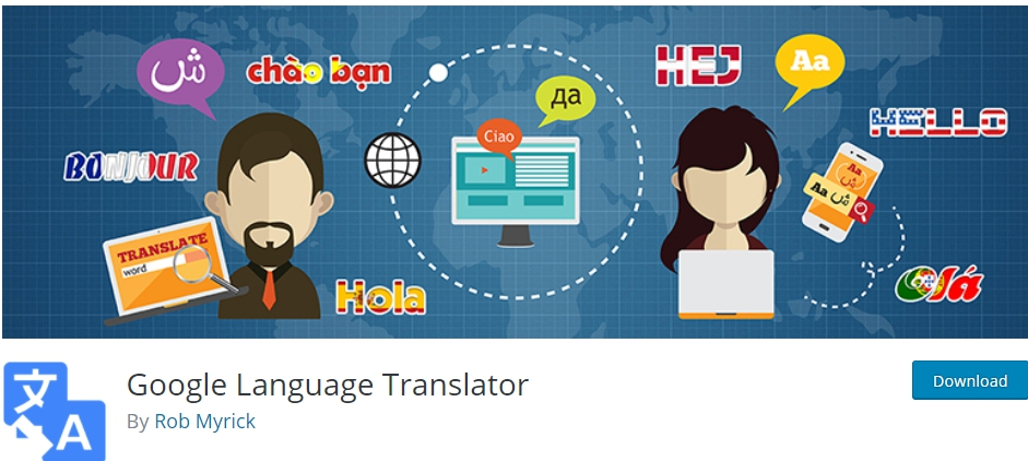 google language translator-Translation Plugins for Website