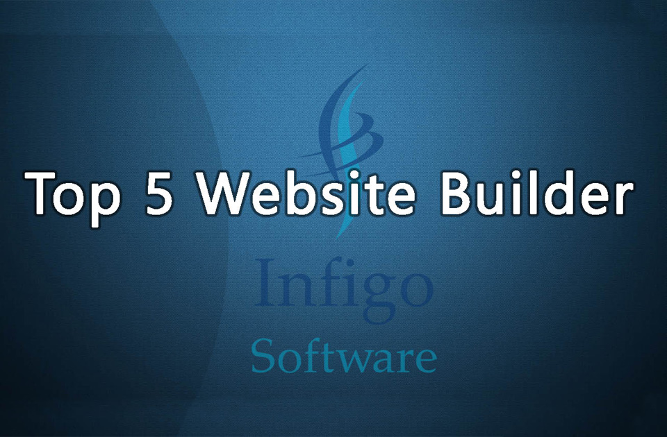 top 5 website builder