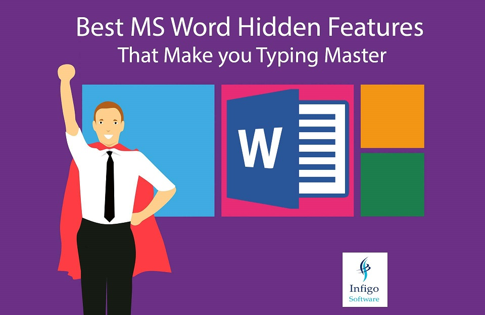 Best MS Word Hidden Features That Make you Typing Master