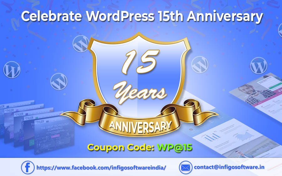 Celebration WordPress Turns 15 Year Old